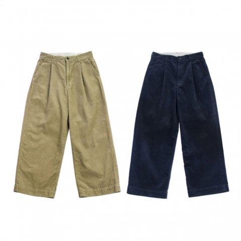 """H.UNIT  """"Corduroy crownsize trousers"""""""