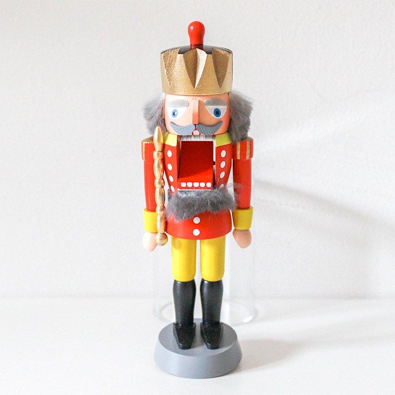 Olaf Kolbe コルベ くるみ割り人形 王様 赤 20cm