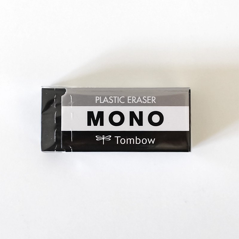 トンボ鉛筆 MONO モノ消しゴム ブラック PE-04AB