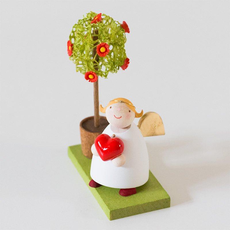 Guenter Reichel ギュンター・ライヒェル ハートを抱く天使と木