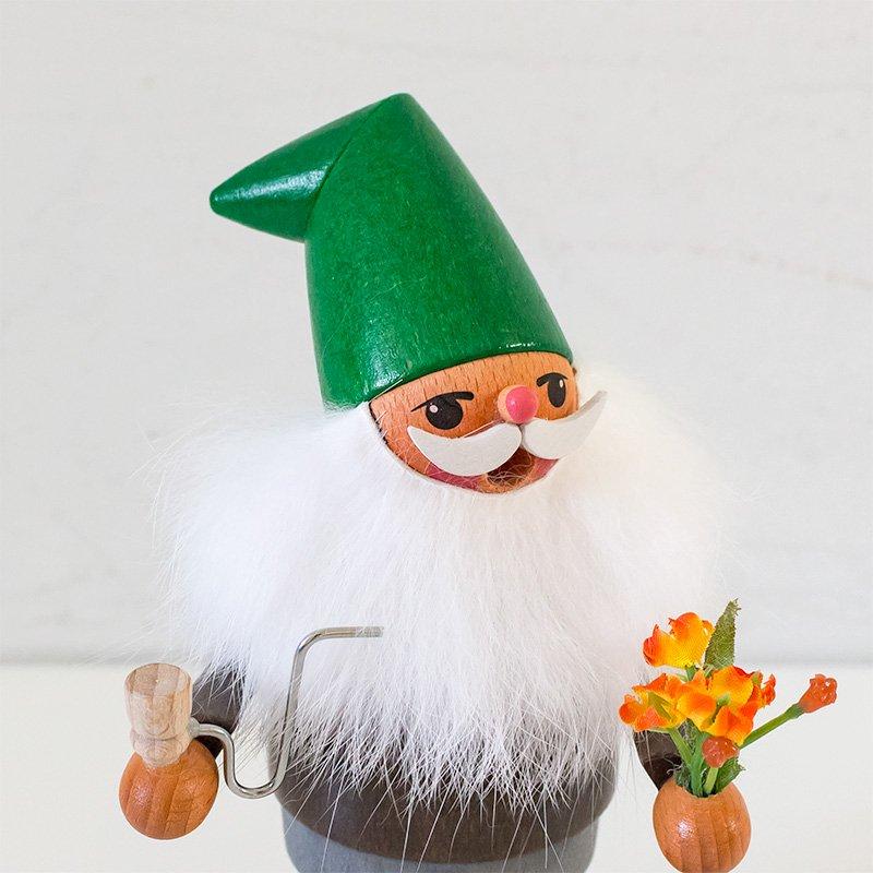 Karl Werner カール・ヴェルナー 煙出し人形 庭師の小人とお花
