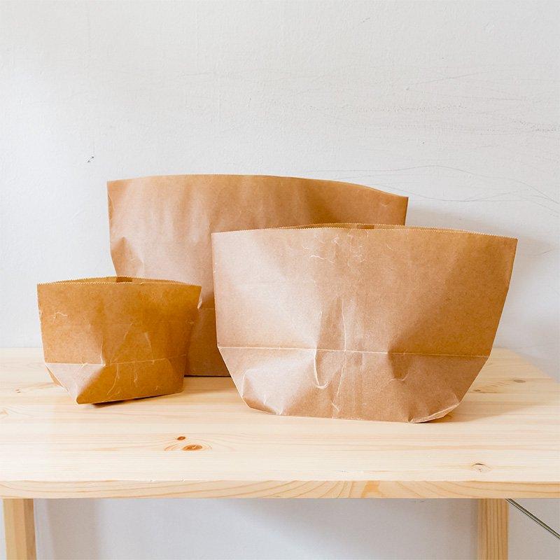 松野屋 蝋引き紙袋 亀甲二型(小)