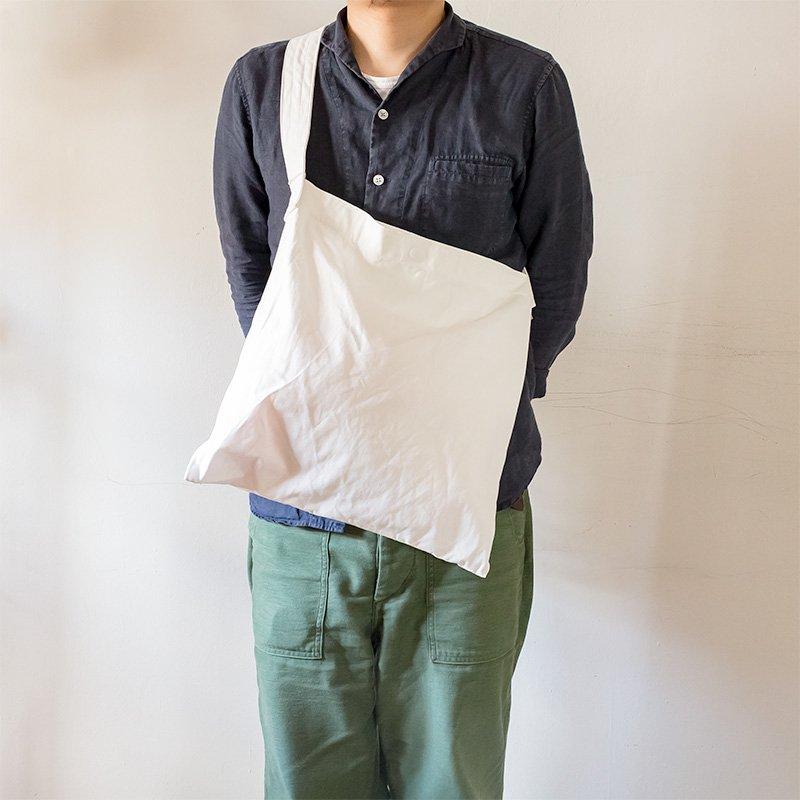 【おワケあり】松野屋 THREAD-LINE スレッドライン キャンバスフラットショルダー 白