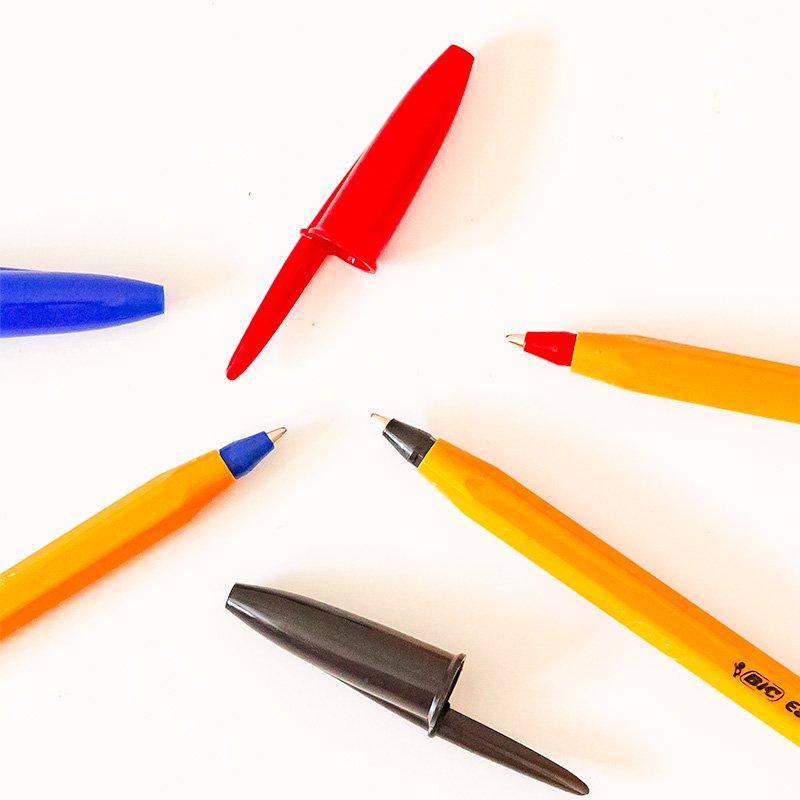 BIC ビック ボールペン オレンジミディアム EG 1.0