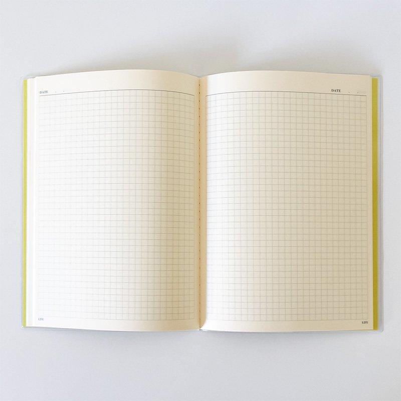 LIFE ライフ カレンダーノート A5 方眼 2019年版