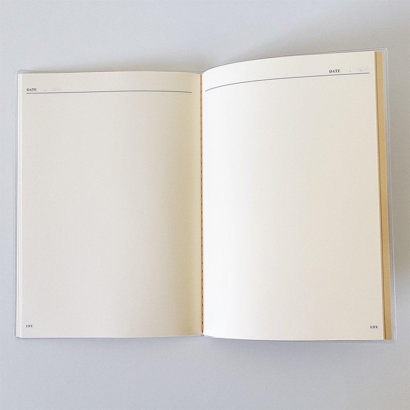 LIFE ライフ カレンダーノート A5 無地 2019年版