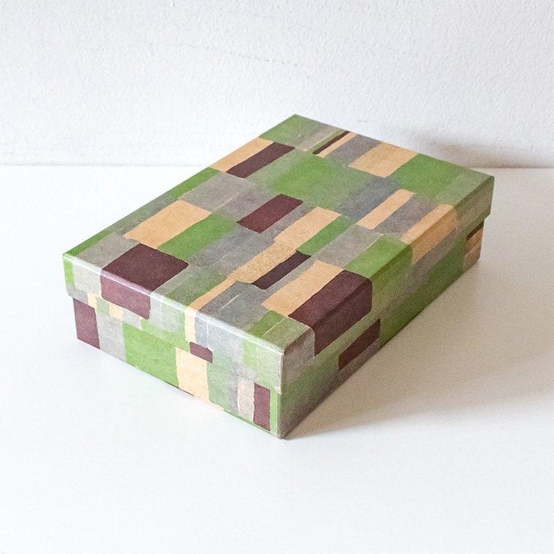 CHARKHA チャルカ CRAFT PAPER LOVE 道具箱 green whisper wall