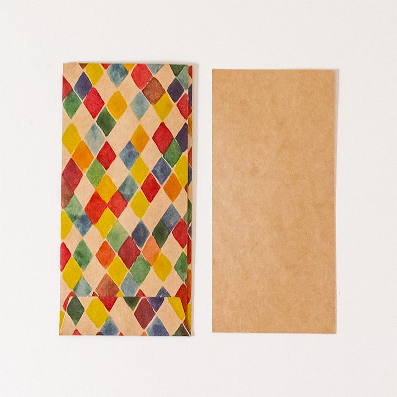 CHARKHA チャルカ CRAFT PAPER LOVE 引き出すカード&封筒 antibes