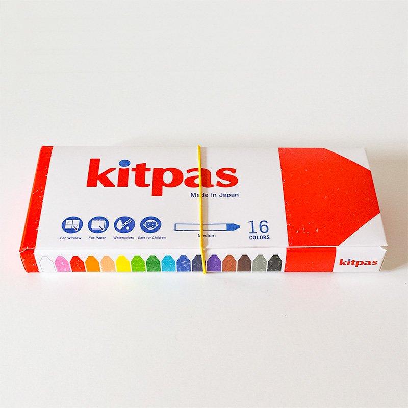 kitpas キットパス ミディアム 16色
