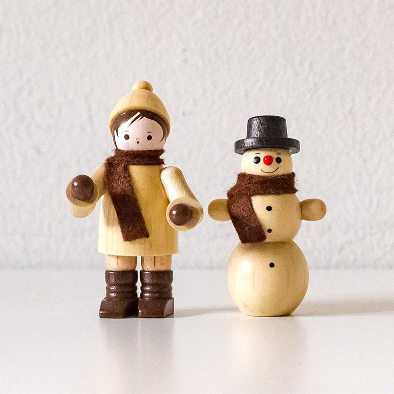 Romy Thiel ロミー・ティール 農夫と雪だるま