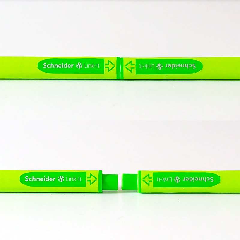 Schneider シュナイダー リンクイット 0.4mm ファインライナー 8色セット