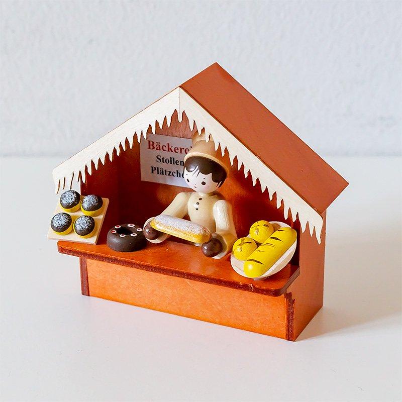 Romy Thiel ロミー・ティール クリスマスマーケットの屋台 パン屋さん