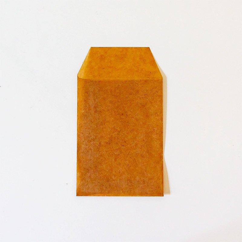 松野屋 蝋引き紙袋 封筒型 特小