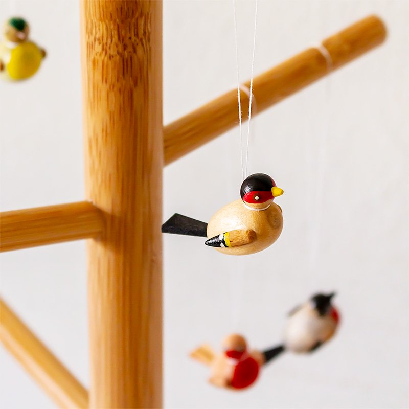 小鳥のオーナメント 2cm