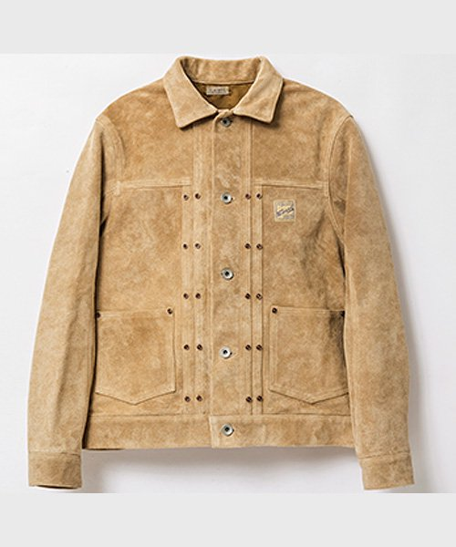 <img class='new_mark_img1' src='https://img.shop-pro.jp/img/new/icons20.gif' style='border:none;display:inline;margin:0px;padding:0px;width:auto;' />RAGTIEM SUEDE 2PK JACKET