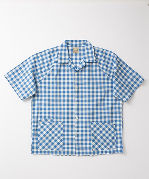 RAGTIME GINGHAM BARBER SHIRTS