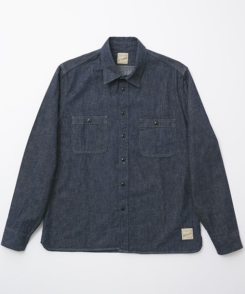 RAGTIME TRIPLE STITCH DENIM L/S SHIRTS