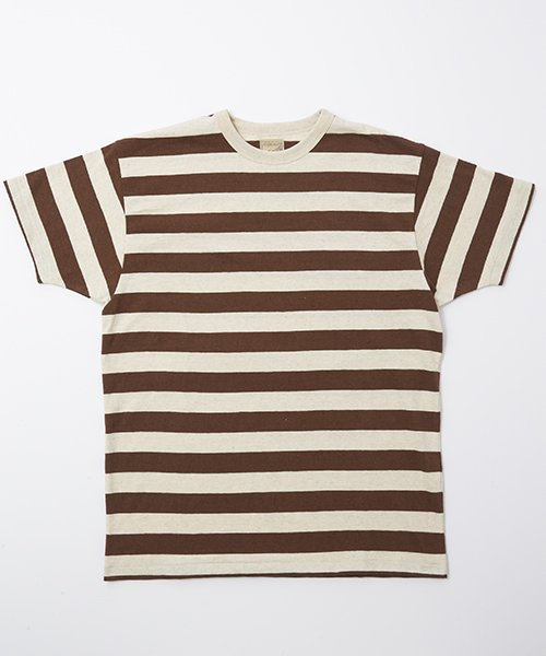 RAGTIME HEMP COTTON STRIPE T