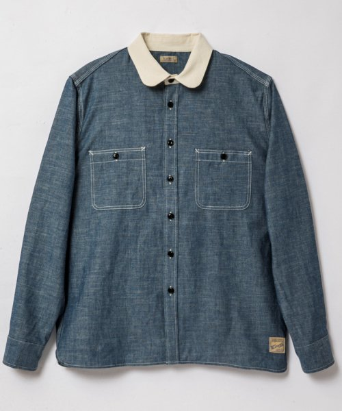 RAGTIME CLERIC CHAMBRAY SHIRTS