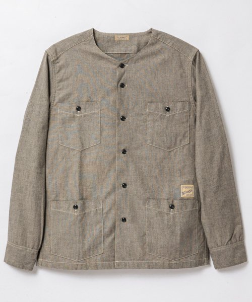 RAGTIME CHAMBRAY CHOPPED HOLLYWOOD LEISURE SHIRTS