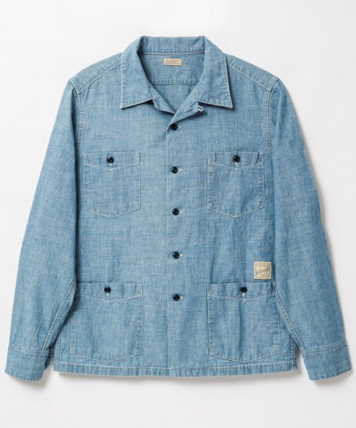 RAGTIME CHAMBRAY HOLLYWOOD LEISURE SHIRTS (AGED)