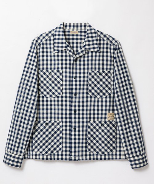 RAGTIME GINGHAM HOLLYWOOD LEISURE SHIRTS
