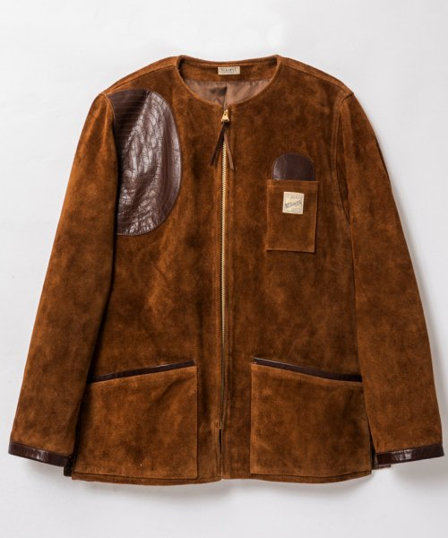 RAGTIME SUEDE SHOOTING JACKET