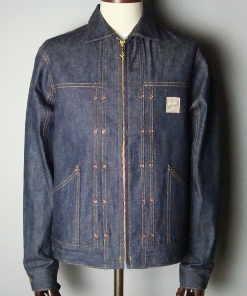 RAGTIME DENIM JACKET with Branket