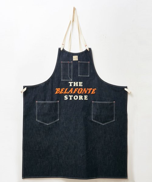 RAGTIME DENIM APRON (THE BELAFONTE STORE CHAIN EMB)