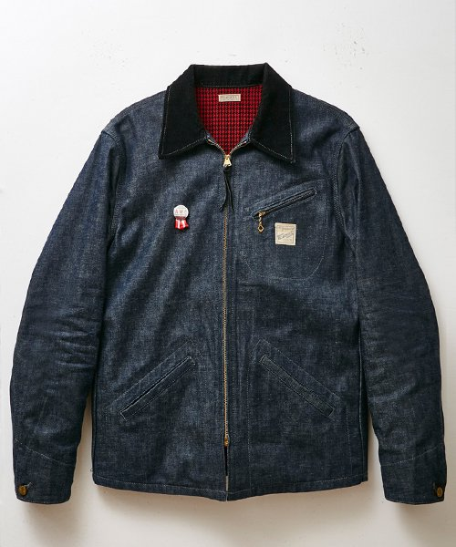 RAGTIME DENIM SPORTS JACKET