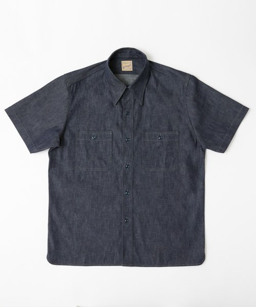 RAGTIME TRIPLE STITCH DENIM S/S SHIRTS