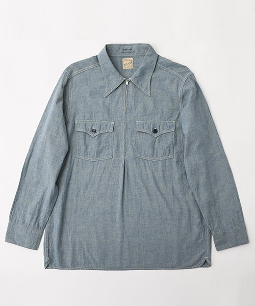 RAGTIME CHAMBRAY PULLOVER SHIRTS