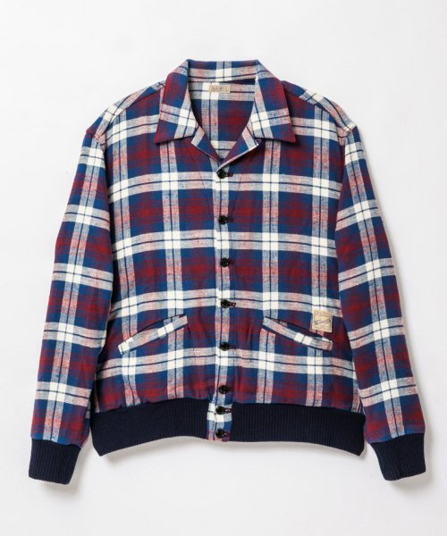 RAGTIME PLAID FLANNEL A-1 JACKET