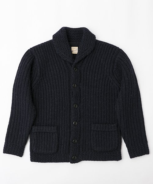 RAGTIME SHAWL COLLAR CARDIGAN