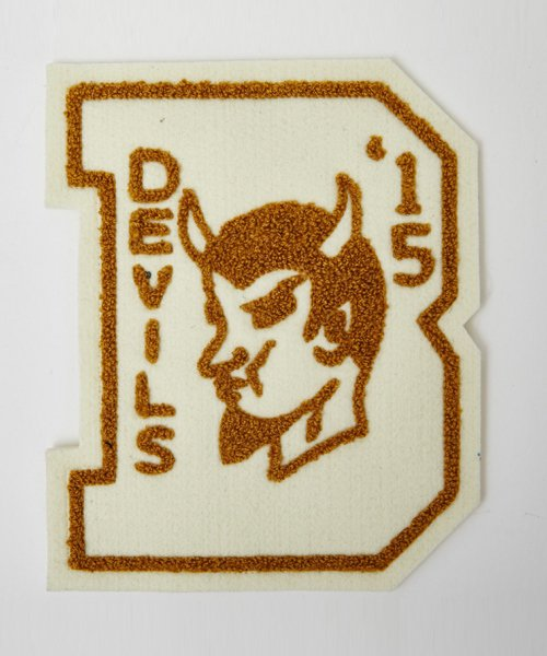 RAGTIME DEVIL LETTERED PATCH
