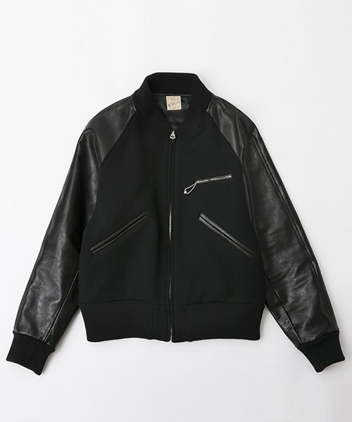 RAGTIME SLASH POCKET VERSITY JACKET