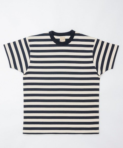RAGTIME MEDIUM STRIPE HEAVY COTTON T