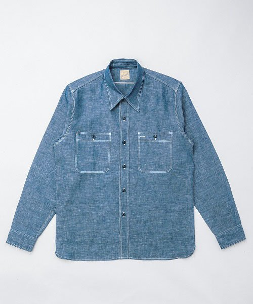RAGTIME TRIPLE STITCH CHAMBRAY L/S SHIRTS