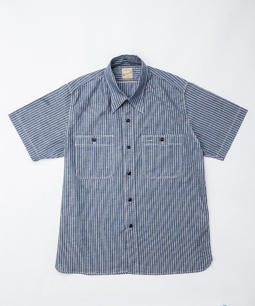 RAGTIME TRIPLE STITCH STRIPE S/S SHIRTS