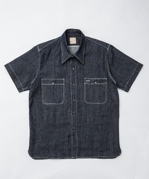 RAGTIME KINARI TRIPLE STITCH DENIM S/S SHIRTS