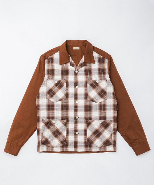 RAGTIME PLAID PANEL HOLLYWOOD LEISURE SHIRTS