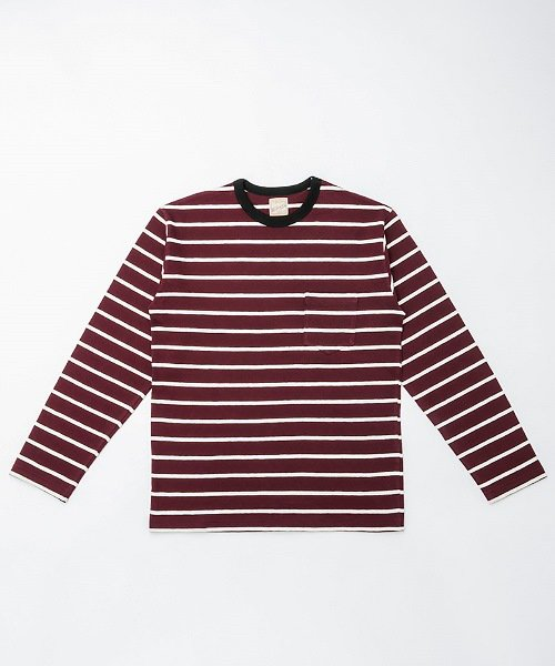 RAGTIME MEDIUM MULTI STRIPE T L/S