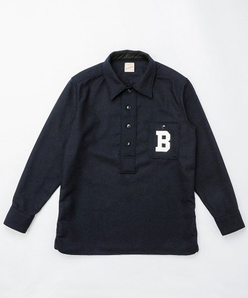 <img class='new_mark_img1' src='https://img.shop-pro.jp/img/new/icons20.gif' style='border:none;display:inline;margin:0px;padding:0px;width:auto;' />RAGTIME BASEBALL PULLOVER L/S SHIRTS