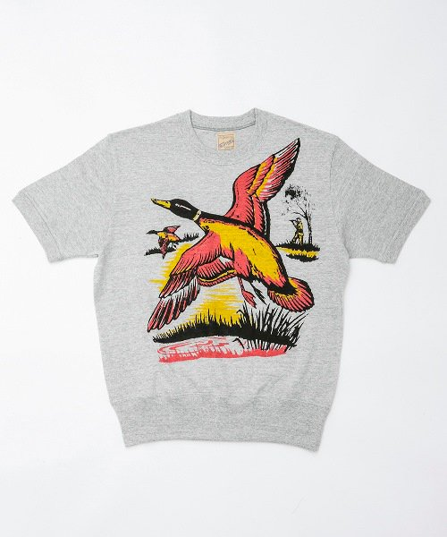 RAGTIME DUCK PRINT PLAY T SHIRTS