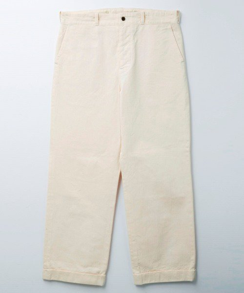 <img class='new_mark_img1' src='https://img.shop-pro.jp/img/new/icons56.gif' style='border:none;display:inline;margin:0px;padding:0px;width:auto;' />RAGTIME HERRINGBONE TROUSERS