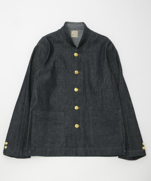 RAGTIME RAILROAD 2CHU JACKET (STAND COLLAR)
