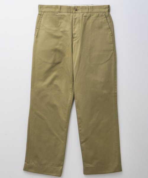<img class='new_mark_img1' src='https://img.shop-pro.jp/img/new/icons20.gif' style='border:none;display:inline;margin:0px;padding:0px;width:auto;' />RAGTIME CIVILIAN DECK CHINO TROUSERS
