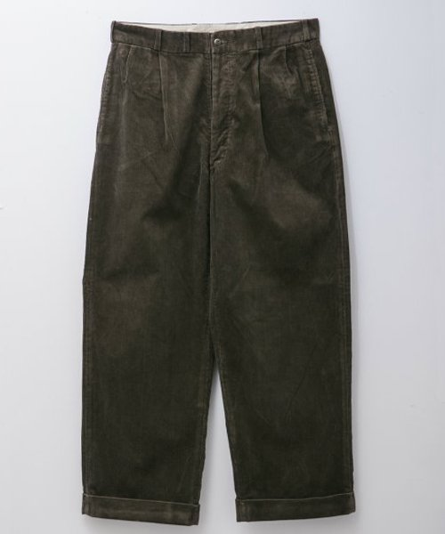 RAGTIME 2TACK CORDUROY TROUSERS (WASHED)