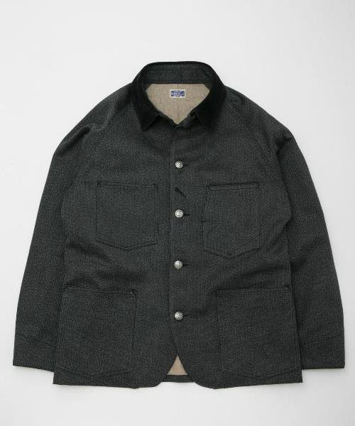 RAGTIME HAMMERALLS JACKET  WITH FLANNEL LINING (BLACK SHEEP)