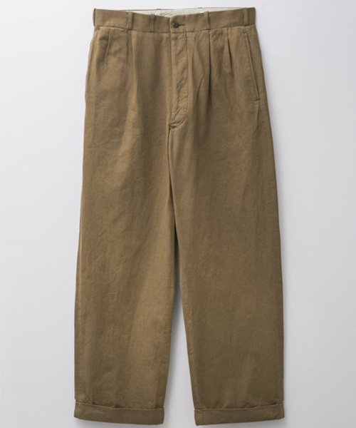 <img class='new_mark_img1' src='https://img.shop-pro.jp/img/new/icons56.gif' style='border:none;display:inline;margin:0px;padding:0px;width:auto;' />RAGTIME 2TACK CHINO TROUSERS (WASHED)